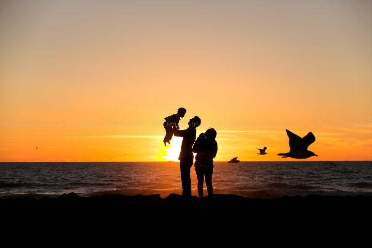 Amazing Beach Sunset